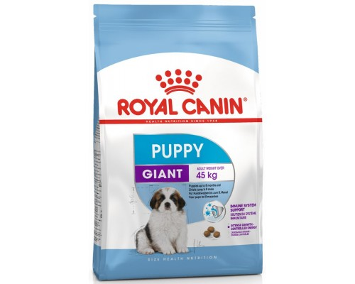 Обзор корма Royal Canin Giant Puppy