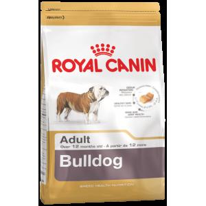 Корм Royal Canin BULLDOG ADULT для взрослых собак породы английский бульдог, 3 кг