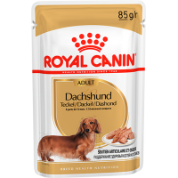 Royal Canin Dachshund Adult (паштет) корм для собак породы Такса в возрасте от 10 месяцев, 85г