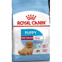 Royal Canin Mini Indoor Puppy для щенков в возрасте от 2 до 10 месяцев (вес взрослой собаки до 10 кг), 0,5кг