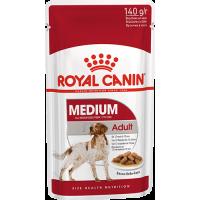 Royal Canin Medium Adult, для собак с 12 месяцев до 10 лет. 140г