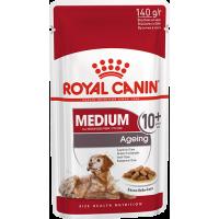 Royal Canin Medium Ageing 10+, для собак старше 10 лет. 140г