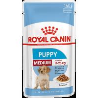 Royal Canin Medium Puppy, для щенков в возрасте c 2 до 10 месяцев. 140г