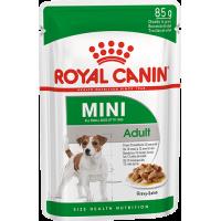 Royal Canin Mini Adult, для собак с 10 месяцев до 12 лет. 85г