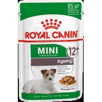Royal Canin Mini Ageing 12+, для собак старше 12 лет. 85г