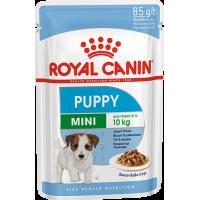 Royal Canin Mini Puppy, для щенков в возрасте c 2 до 10 месяцев. 85г
