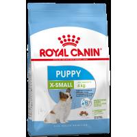 Royal Canin X-Small Puppy для щенков миниатюрных размеров от 2 до 10 месяцев.