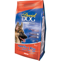 Special Dog корм для собак, ягнёнок и рис