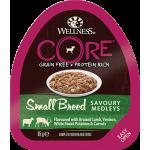 Консервы CORE для мелких собак, из баранины с олениной, белым сладким картофелем и морковью, 85 г