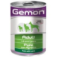 Консервы Gemon  собак пород,  паштет ягненок 400г