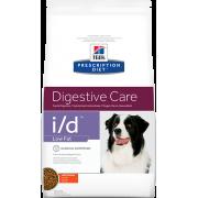 Hill's i/D для собак, низкокаллорийный при расстройствах пищеварения, 12 кг