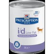 Hill's i/D для собак,низкокаллорийный при расстройствах пищеварения, 360г
