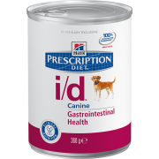 Hill's i/D для собак, при расстройствах пищеварения, 360г