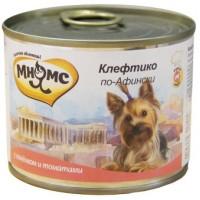 Консервы Мнямс для собак Клефтико по-Афински, 200 г