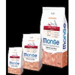 Monge для собак мелких пород, лосось и рис
