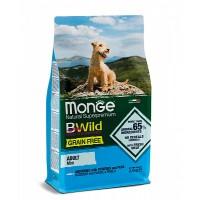Monge беззерновой для собак мелких пород, анчоус с картофелем 2,5кг