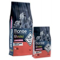 Monge Bwild для щенков с олениной