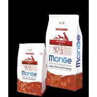 Monge для собак ягненок с рисом и картофелем