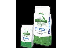Обзор корма Monge для собак крупных пород