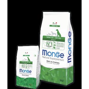 Monge Dog Maxi корм для взрослых собак крупных пород 15 кг
