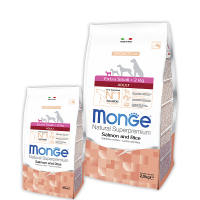 Monge для миниатюрных собак, с лосось и рис