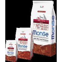 Monge для собак мелких пород, ягнёнок и рис,