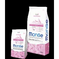 Monge для собак, свинина с рисом и картофелем