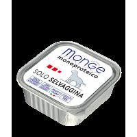 Паштет Monge Monoproteico для собак, из дичи 150 г