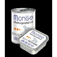 Паштет Monge Monoproteico для собак, из индейки