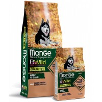 Monge беззерновой для собак, лосось и горох