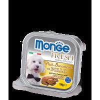 Консервы Monge Fresh для собак курица 100 г