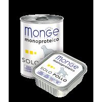 Паштет Monge Monoproteico для собак, из курицы