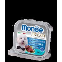 Консервы Monge Fresh для собак утка 100 г