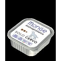 Паштет Monge Monoproteico для собак, из оленины 150 г