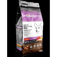 ProBalance для собак говядина и ягнёнок, 15 кг
