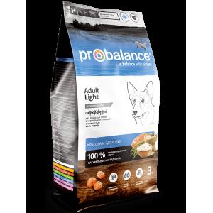 ProBalance Adult Light Корм сухой для взрослых собак с нормальной активностью, 3кг