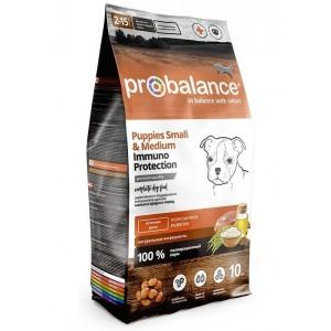ProBalance Immuno Puppies Small & Medium Корм сухой для щенков малых и средних пород, 3кг