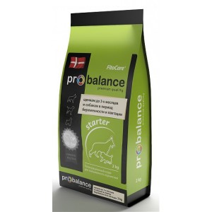 ProBalance Starter Корм сухой для щенков до 3-х месяцев и собак в период беременности и лактации, 2 кг
