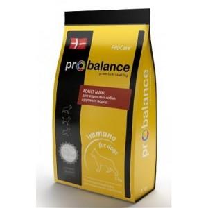 ProBalance Immuno Adult Maxi Корм сухой для взрослых собак крупных пород, 3 кг