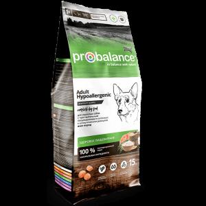 ProBalance Hypoallergenic Корм сухой для взрослых собак всех пород с чувствительным пищеварением