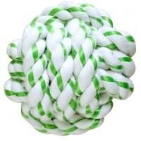 Мяч CanineClean из каната с ароматом мяты, 8 см