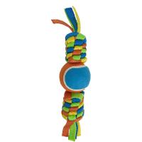 Плетенка Petpark с теннисным мячом 6 см
