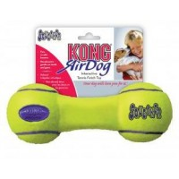 """Игрушка KONG для собак Air """"Гантель""""  средняя 18 см"""