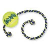 """Игрушка KONG для собак Air """"Теннисный мяч"""" с канатом средний"""