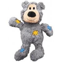 """Игрушка для собак Kong WildKnots """"Мишка"""" плюш с канатом внутри 10 см"""