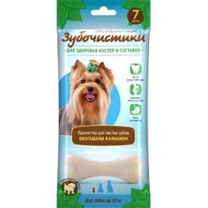 """""""Зубочистки"""" Кальциевые для собак мелких пород 60 г"""