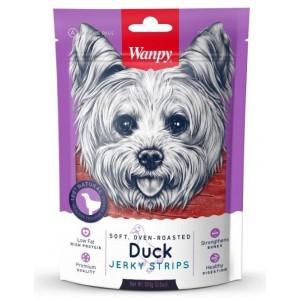 Лакомство для собак Wanpy Dog утиная соломка 100 г