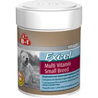 Мультивитамины 8in1 Excel  для собак мелких пород 70 таб.