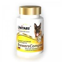 Пивные дрожжи Unitabs для крупных собак, 100 табл