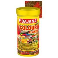 Корм Dajana Colour для яркого окраса рыб, хлопья, 10л